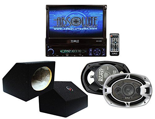 Special Offers - Absolute USA AVH4000PKG 7-Inch In-Dash TFT-LCD Monitor DVD Receiver and Speaker Combo Pack with Two 6 x 9 Inches Enclosure Boxes - In stock & Free Shipping. You can save more money! Check It (September 28 2016 at 04:50PM) >> http://caraudiosysusa.net/absolute-usa-avh4000pkg-7-inch-in-dash-tft-lcd-monitor-dvd-receiver-and-speaker-combo-pack-with-two-6-x-9-inches-enclosure-boxes/