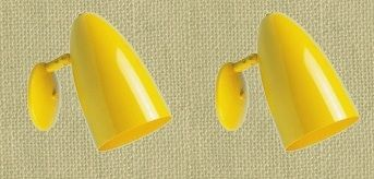 hiphavenyellowsconcepair.jpgLights, Accent Piece, Single Bullets, Avocado Green, Colors, Bullets Sconces, Hiphavenyellowsconcepair Jpg, Furniture, Yellow Accent