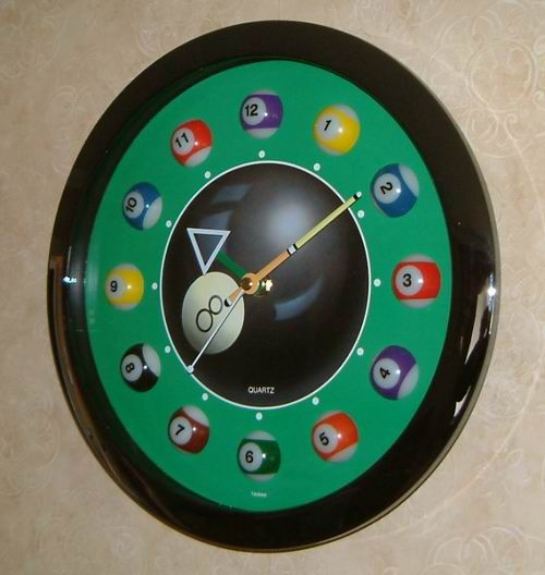 196 best hickory dickory dock images on pinterest antique clocks pool ball clock fandeluxe Choice Image