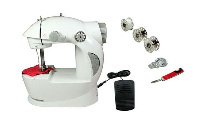 ماكينة خياطة صغيرة وعملية سنجر عمل بالدواسة او ببطاريات و لزوم السفر Sewing Machine Energy Saving Devices Power Saver