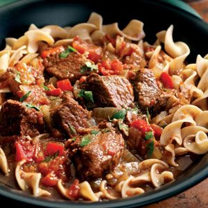 Hungarian Beef Goulash plus more  Healthy Slow Cooker Recipes - Easy Recipes for Slow Cooker - Delish.com