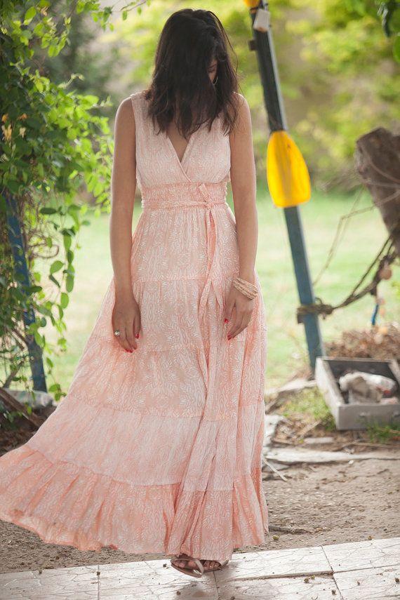 Carrie Dress Hippie Urban Sommer Maxi Abendkleid von AnabellaWomen