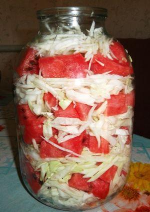Для любителей капусты и арбузов!   Четыре вкуса