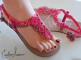 Image result for manualidades de sandalias tejidas