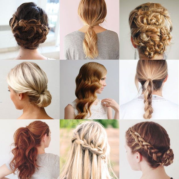 Nine Easy Hair Tutorials