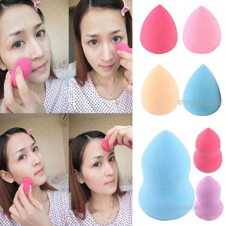 Sponge éponge beauty blender Flawless maquillage Makeup Foundation Puff Powder in Beauté, bien-être, parfums, Maquillage, Autres | eBay