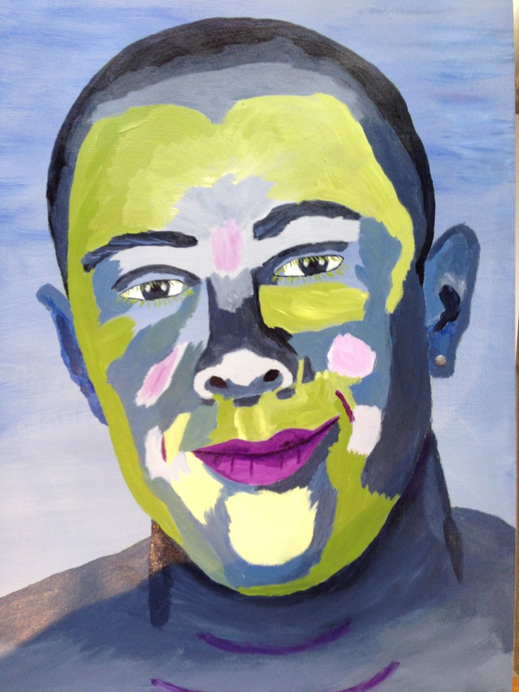Wendy S Cake Art Facebook : Abstract Portrait of Michael by Wendy Sinclair 6.6.13 ...