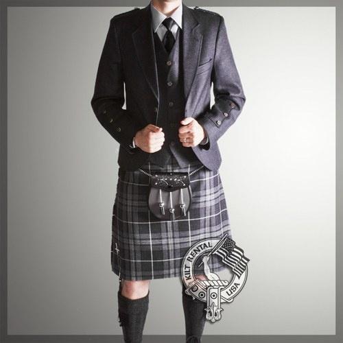 Grey Kilt Outfit Package - pricier, but a gorgeous set!