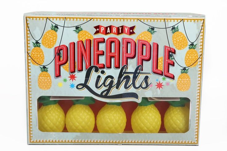 Pineapples are everywhere right now and now these pineapple string lights could be everywhere in your home too! These fabulous pineapple lights...