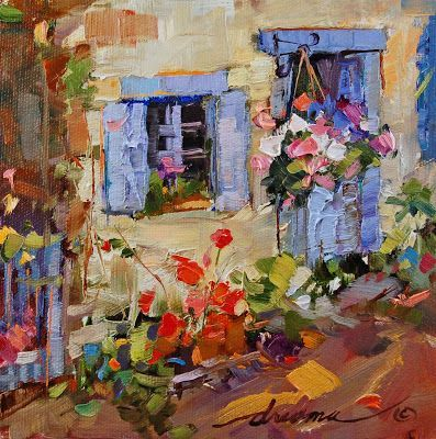 """Dreama Tolle Perry, """"Bliss Blue French"""""""