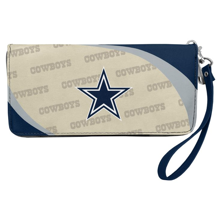 NFL Dallas Cowboys Curve Zip Organizer Wallet, Women's