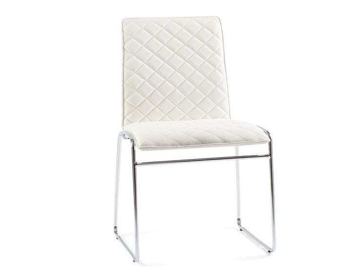 CRYSTAL - Dining chair - White