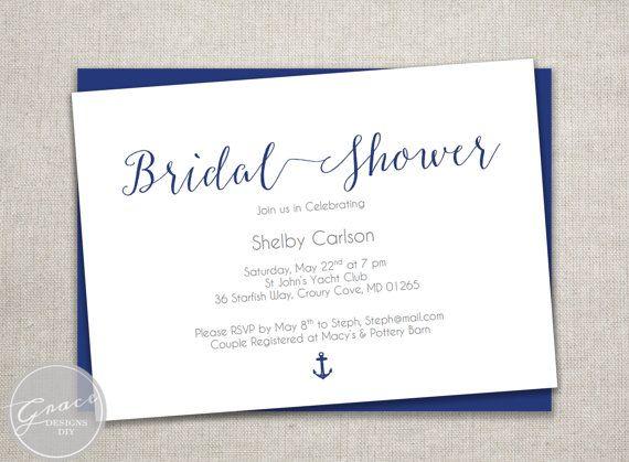 The 25 best Nautical bridal showers ideas on Pinterest Ocean