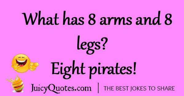 Funny Pirate Joke - 5