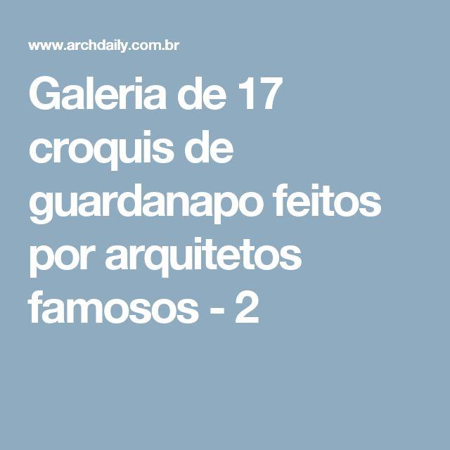 Galeria de 17 croquis de guardanapo feitos por arquitetos famosos - 2