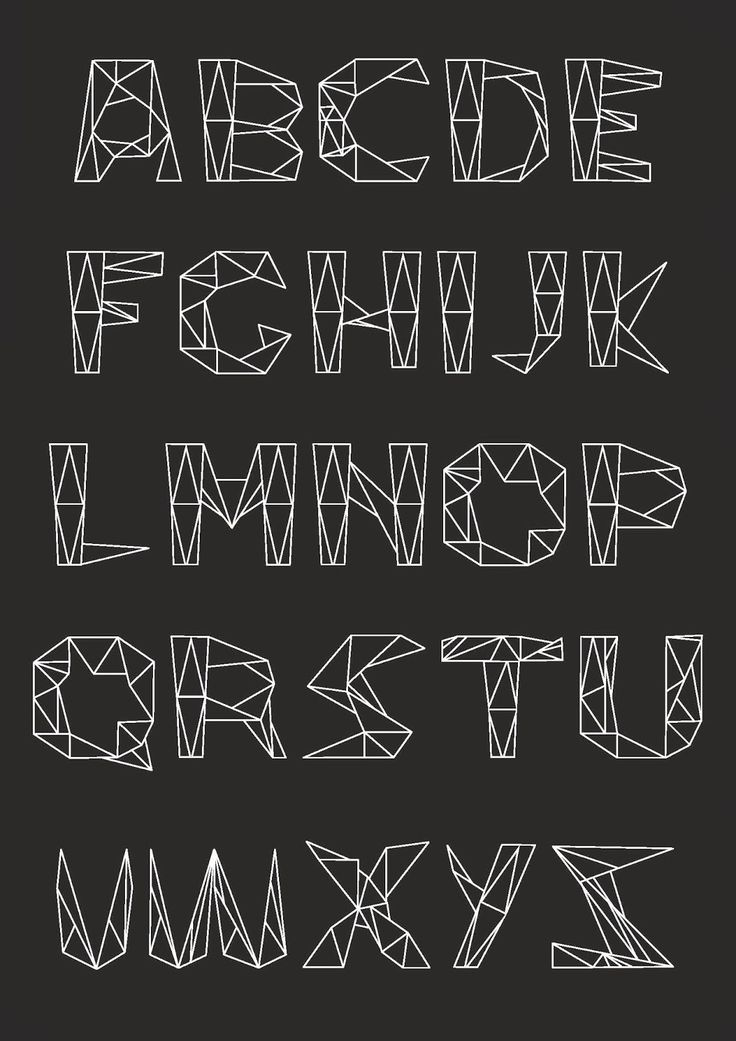 process and ways: Typographie filaire///1CVPM