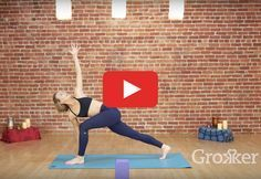 It's like the best of both worlds. http://greatist.com/move/home-workout-yoga-and-pilates-routine-you-can-do-anywhere