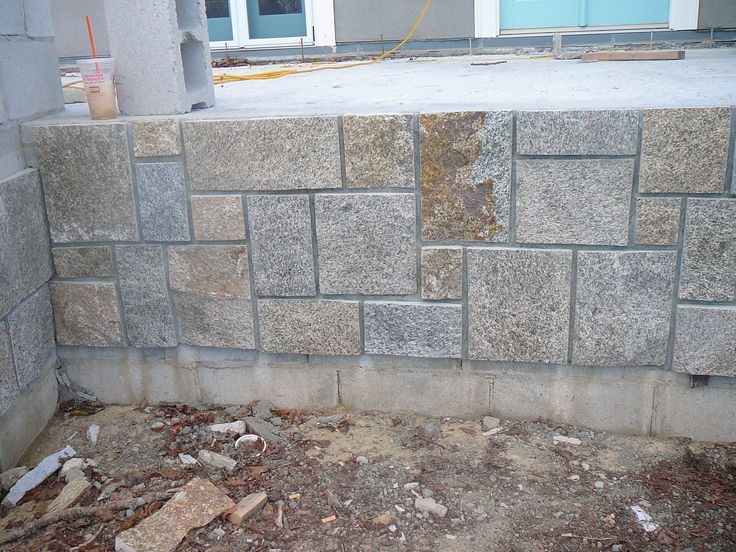 10 best stone veneer over concrete images on pinterest gardening