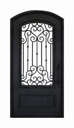 145 best ideas about puertas on pinterest iron gates - Porte fer forge exterieur ...