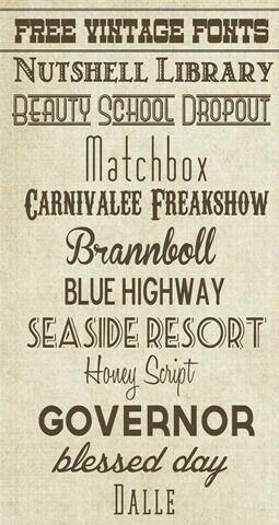 I like the font that says freakshow