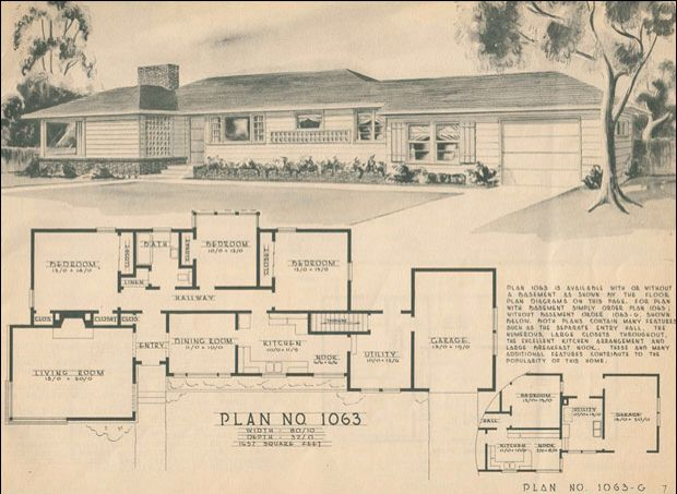 95 Best Images About Mid Century 1945 1970 Modern Ranch