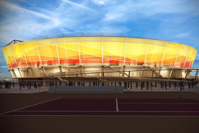 Parque Olímpico - Centro de Tênis (Foto: Renato Sette Camara / EOM)