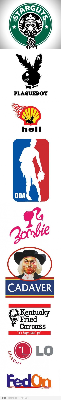 Logos of the Zombie Apocalypse