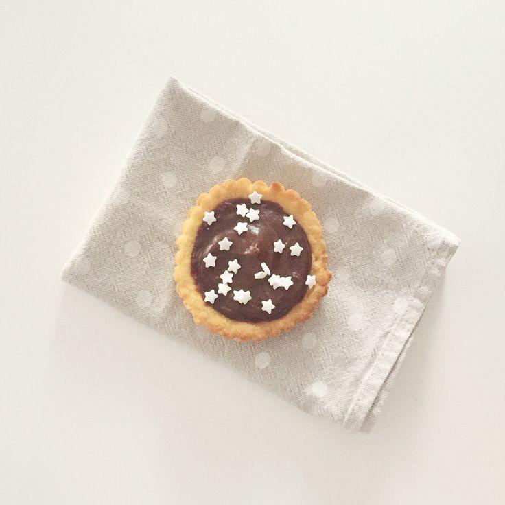 Mini chocolate tart ❣