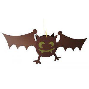 Vleermuis-lampion. Zelf maken, niet kopen.