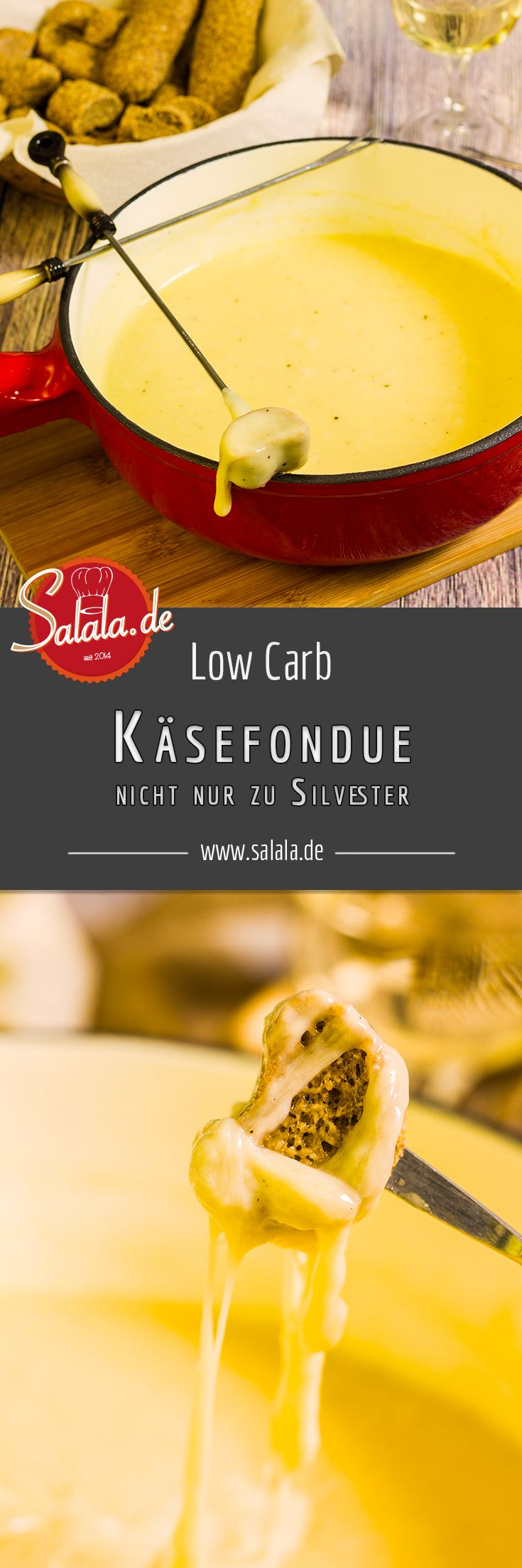 Cremiges Schweizer Käsefondue mit der richtigen Käsemischung und der korrekte Zubereitung!