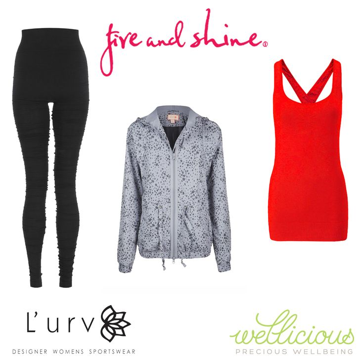 Available for purchase on the Fire and Shine website. Wellicious Dance Leggings  - $144.95, L'urv Leopard Lunar Jacket - $229.00, Wellicious Align Yoga top - $124.95. #fireandshine #ethical #wellicious #Lurv #yoga #fashion #activewear #loungewear #barre #hiit #circuit #getthelook #style