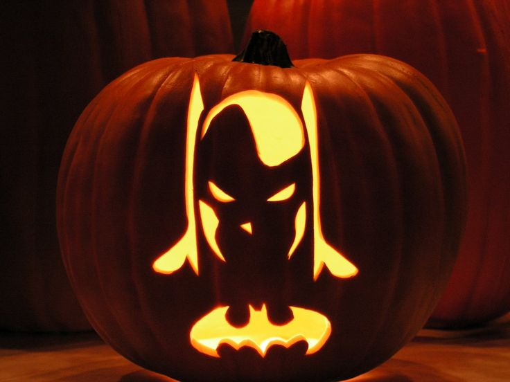 Printable batman pumpkin carving stencils
