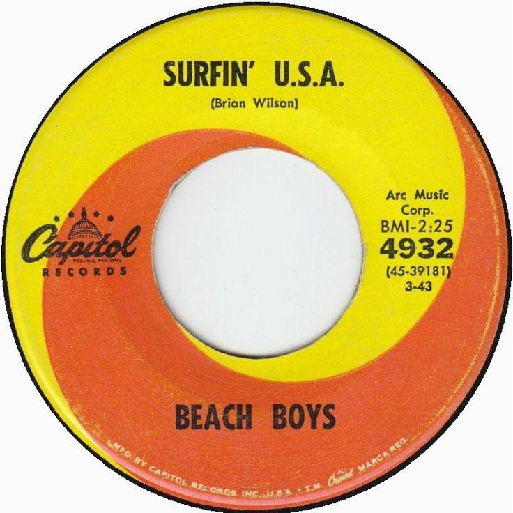 Surfin' USA Beach boys...one of my fav cd's