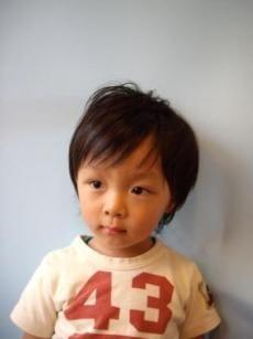 子供の髪型 男の子 ミディアム ヘアースタイル