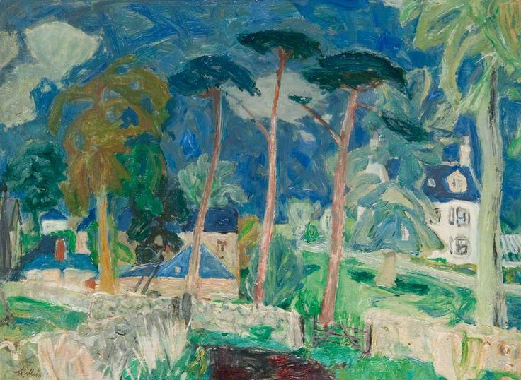 William George Gillies The Farm Place, Summer