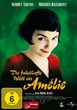 Die fabelhafte Welt der Amelie  2001 France,Germany      IMDB Rating 8,5 (281.470)  Darsteller: Audrey Tautou, Mathieu Kassovitz, Rufus, Lorella Cravotta, Serge Merlin,