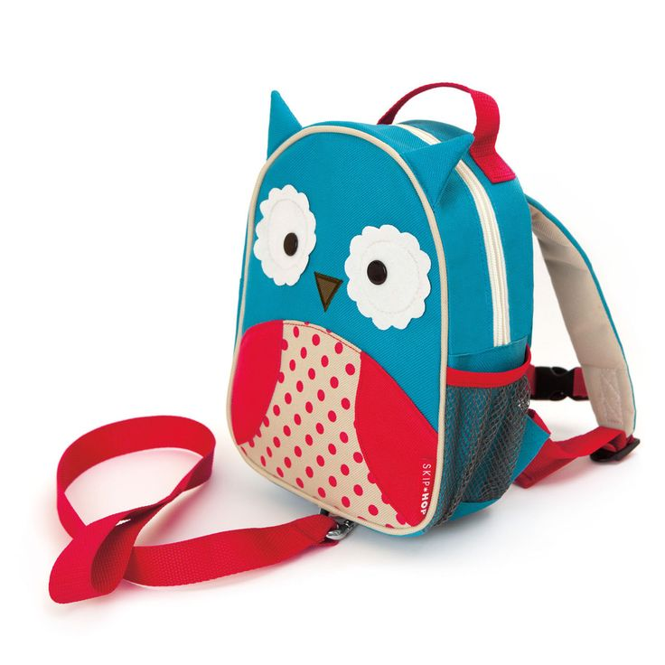Skip Hop - Mini backpack with Rein - Owl