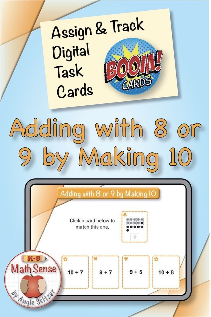 Adding With 8 Or 9 By Making 10 Free Online Math Games Kindergarten Math Games Fun Math Addition to games online