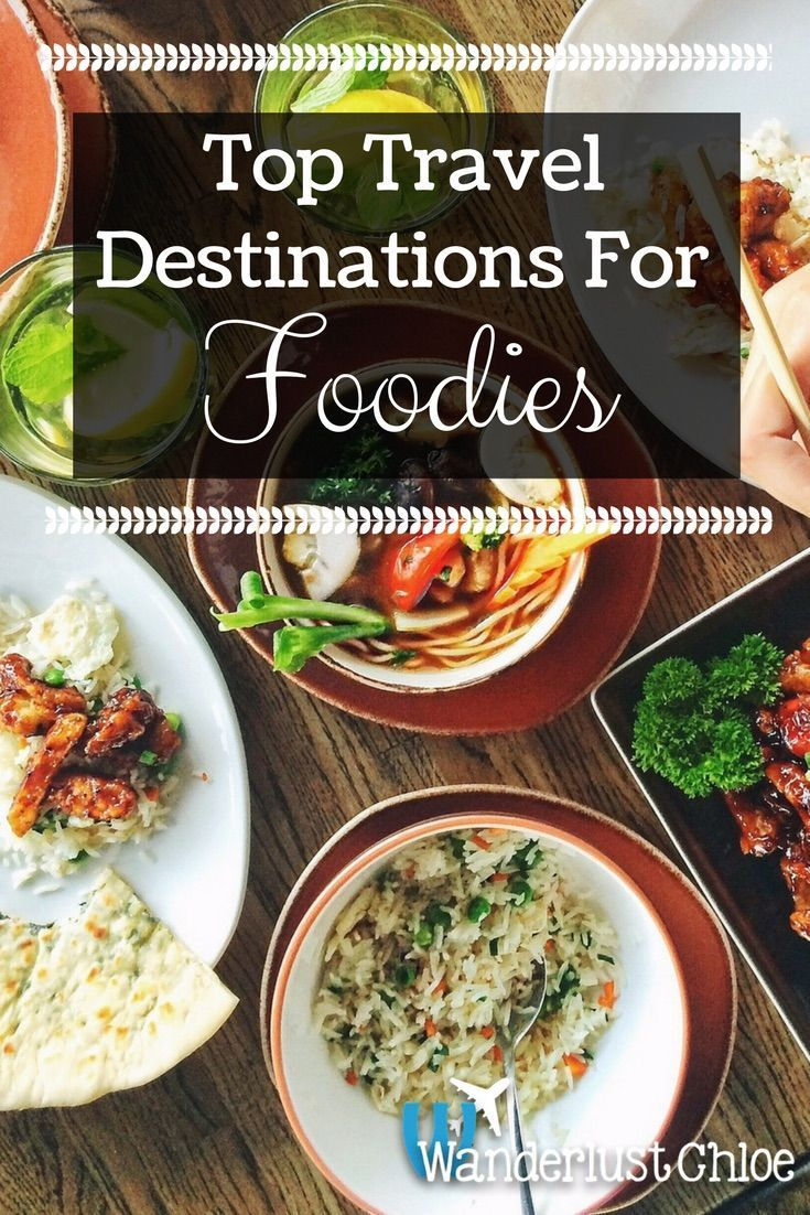 Top Travel Destinations For Foodies. From eating amazing steak in Argentina to sushi and ramen in Japan and Spain's paella and Italy's pizza, find out the top places to travel to if you're a food lover!