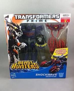 hasbro spot new boxed tfp leader card beast hunter v class sailing home level shock wave #transformer