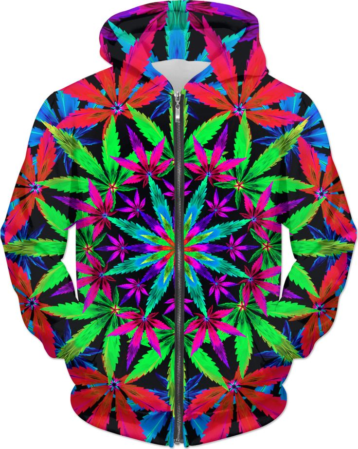 Pink Stoners' Mandala original artwork created by The Weed Art Lady. Get this awesome custom printed hoodie today on RageOn.com and show off your unique style!