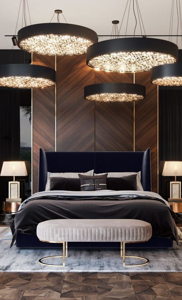 New Trend And Modern Bedroom Design Ideas For 2020 Part 10 Luxurious Bedrooms Modern Bedroom Design Luxury Bedroom Design