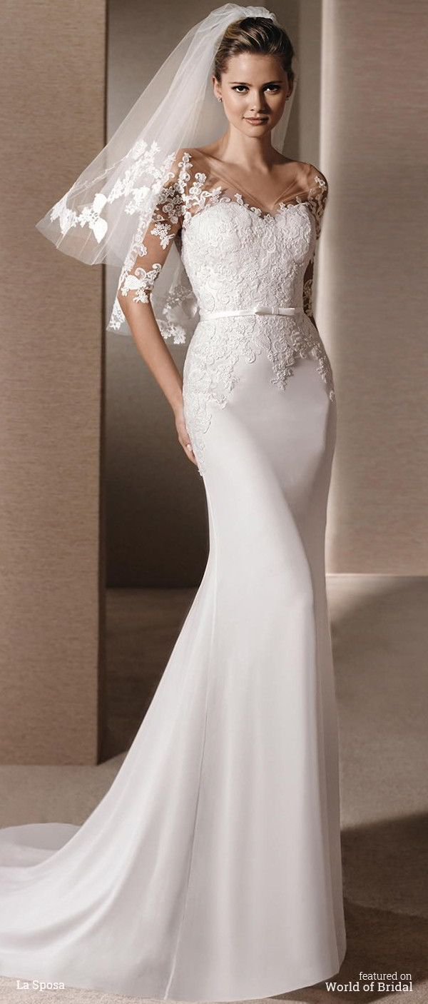La Sposa 2016 mermaid wedding dress