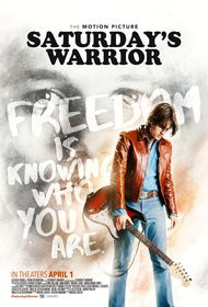 Saturday's Warrior poster...I'm so excited to see this movie.