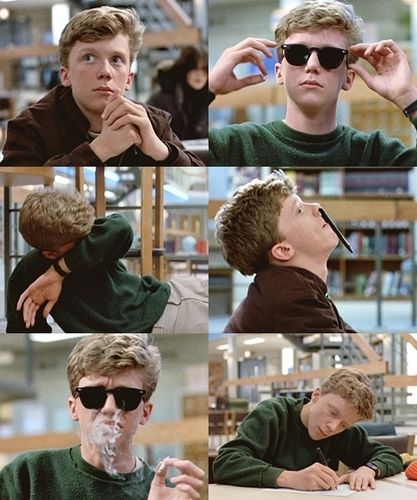 The Breakfast club, 1985 - Anthony Michael Hall