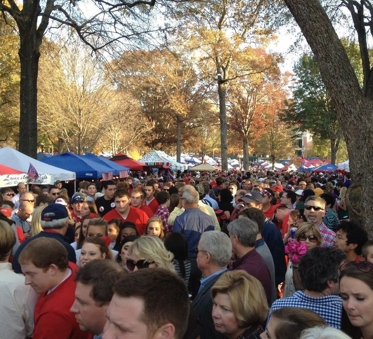 'The Grove' Part of What Makes Ole Miss Great