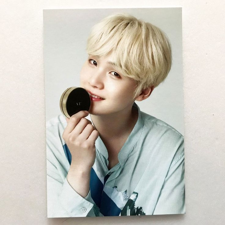 BTS (防彈少年團) x VT Cosmetic Official Promotional NEW YEAR Postcard : Suga