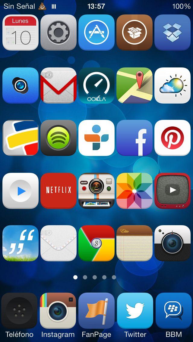 Así tengo mi iPhone gracias al jailbreak