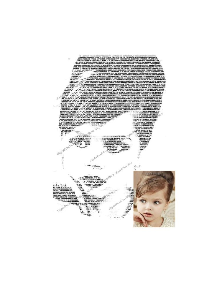 """Custom Your Baby Portrait Typography Photos of """"Customized Photos From Your Baby 01"""" Modern Gift  #Canvas #Art using your #photos and #words. #Canvas #Wall #Decor #Personalized for you or your family using your #photos and words or #vow and #family #sign, great for a #wedding #gift, #engagement gift, #nurserydecor. #DigitalPrintStore on #Etsy"""