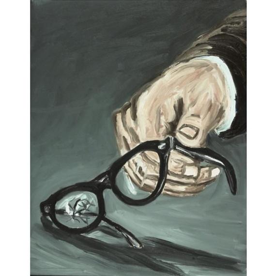 SHATTERED  By Richard Bosman  Artwork Description  Medium: oil on canvas
